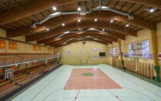 Hala Arena- widok z górnych trybun