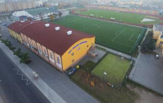 Hala Arena- widok z zewnątrz