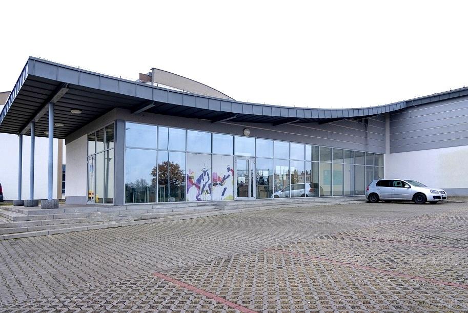 Budynek squash.